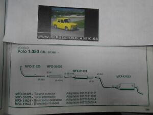 1124 TUBERIA SALIDA COLECTOR DE ESCAPE RENAULT 7