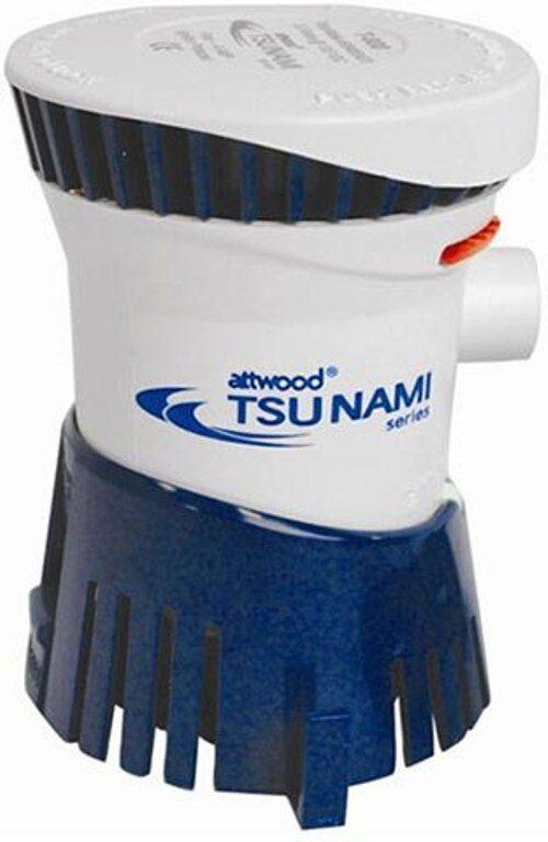ATTWOOD TSUNAMI SERIES CARTRIDGE BOAT BILGE PUMP  1200 GPH 4612-7  best prices