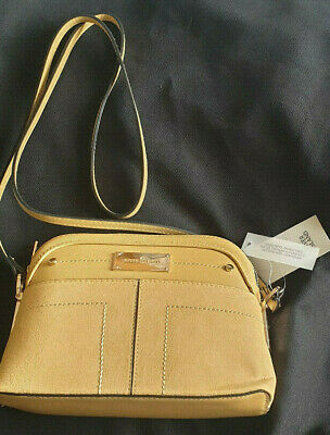 BNWT RIVER ISLAND YELLOW FRONT POCKET CROSS BODY BAG BRAND NEW