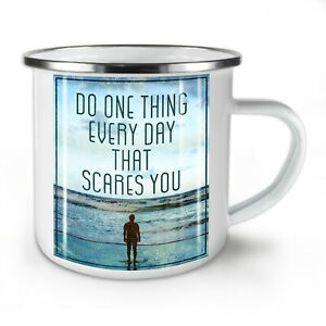 Life Motivation NEW Enamel Tea Mug 10 oz   Wellcoda