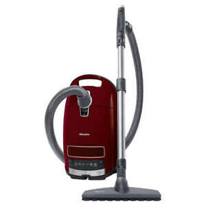 Miele-Complete-C3-Canister-Vacuum-Cleaner-Limited-Edition-Quiet-Red-US-120V-NEW