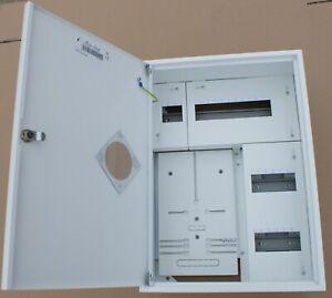 Sicherungskasten-Zaehlerschrank-Verteilerkasten-1x-Zaehler-1-Ph-24-Sicherungen