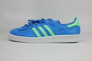 the latest 94d1e df947 Image is loading ADIDAS-ORIGINALS-CAMPUS-80-039-S-BLUE-LIME-