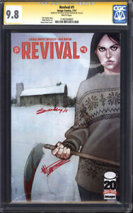 REVIVAL #1 (1st Print) CGC 9.8 SS NM/M / Double-signed Tim Seeley & Mike Norton!