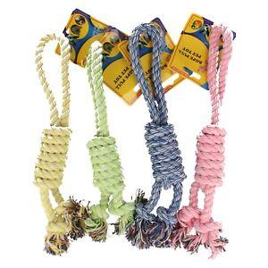 Alegre-mascotas-cuerda-tirar-Mascota-Juguete-4-Colores-Disponibles