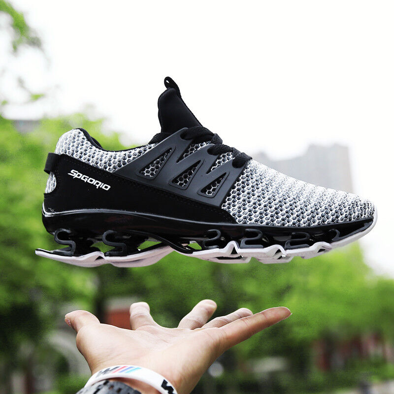 Breathable Men Big Size Running shoes Anti-Slip Light Outdoor Spring Casual shoes