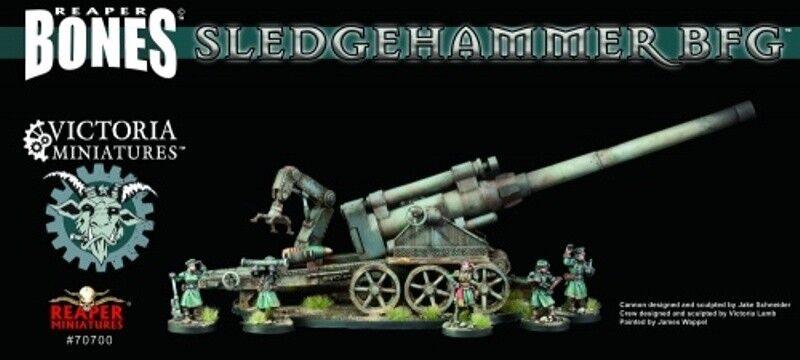 REAPER MINIATURES BONES - 70700 Sledgehammer BFG (Boxed Set) NEUF NEW