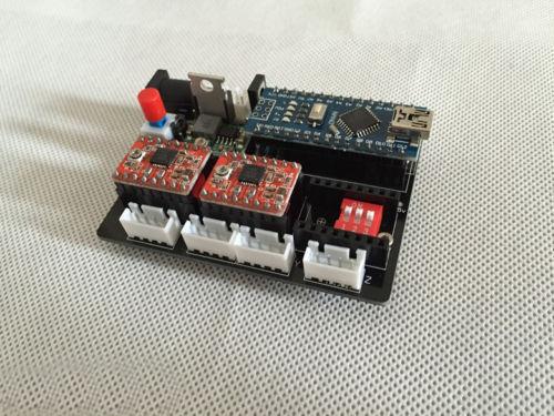 2-Axis axes Pas à Pas Motor Drive Control Board for À faire soi-même laser machine à graver CNC