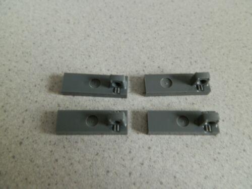 Lego 44300# 4x Scharnier 1x3 grau neu dunkelgrau 7669 8129