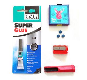 Snooker-Cue-Tip-Repair-Kit-Elk-Master-Tips-8-5mm-9mm-or-10mm-SALE