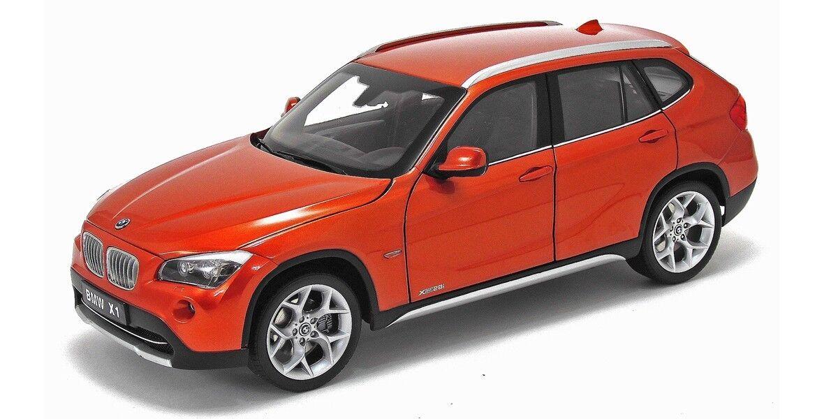 1/18 Kyosho BMW X1 xDrive 28i E84 Valencia arancia Diecast Model arancia 08791VP