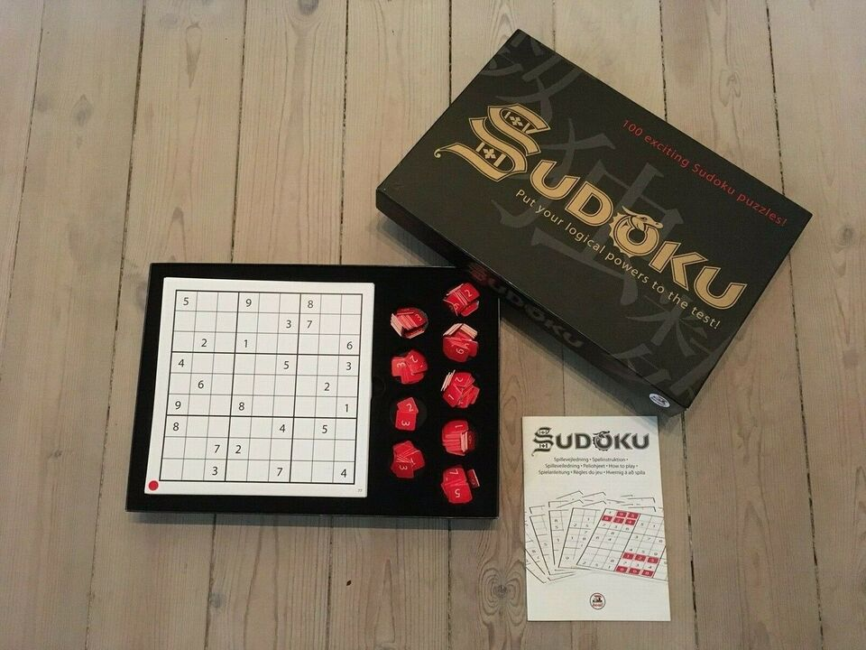 Sudoku, brætspil
