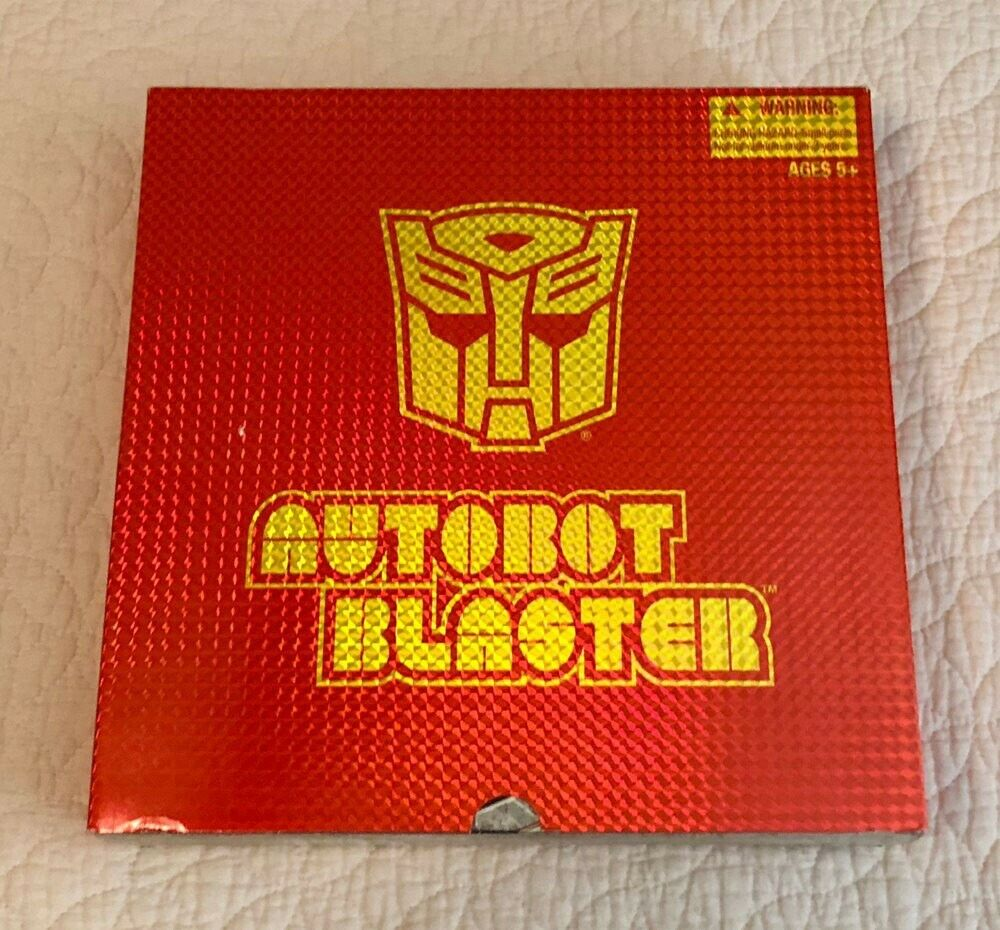 Transformers blaster g1 SDCC 2010 Exclusive Mint in Box Unopened