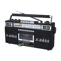 Boombox Cassette Tape Player To Mp3 Converter Stereo Speaker System.portable