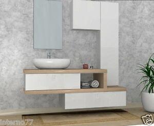 Armadietti Da Bagno Italia : Mobile da bagno moderno b vari colori l cm arredobagno