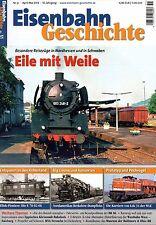 Eisenbahn Geschichte Heft Nr. 51 Eile mit Weile Züge in Nordhessen Schwaben (D3)