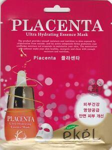 EKEL-Ultra-Hydrating-Essence-Mask-Korean-Masksheet-cosmetics-PLACENTA-1-pcs