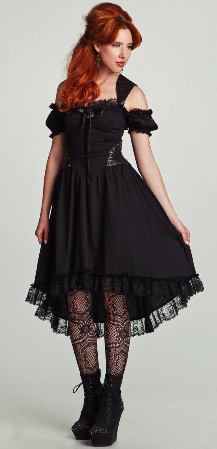 Lip Service Winchester Steampunk Victorian Gothic Lolita Anime Cosplay Dress