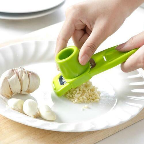 Ginger Garlic Grater Crusher Slicer Cutter Chopper Press Grinder Kitchen plastic