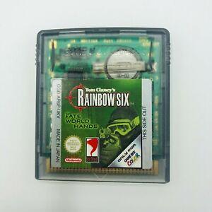 Tom Clancy's Rainbox Six-GameBoy Color-flojo cartucho sólo