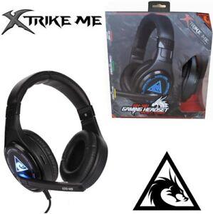 Cascos auriculares con micrófono gaming para pc de cable XTRIKE ME ESTÉREO