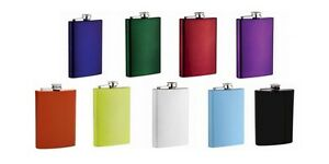 Personalized-8oz-Stainless-Steel-Flask-8-Colors-Wedding-Graduation-Birthday