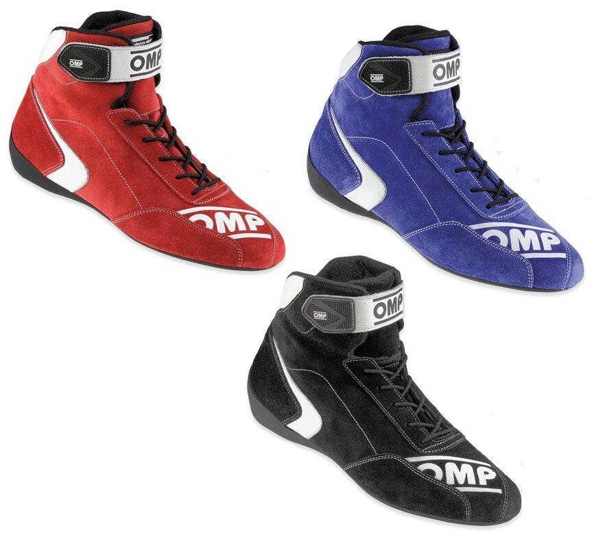 vendita con alto sconto IC 802 OMP SCARPE RACING FIRST-S scarpe OMOLOGATE OMOLOGATE OMOLOGATE FIA NERO ROSSO BLU 37-48  migliore offerta
