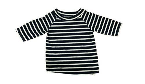 Ex Evans Navy Stripe Top T-Shirt Size 22-24 B13