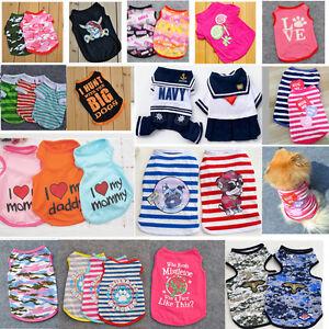 Spring-Summer-Various-Pet-Vest-Puppy-Clothes-Dog-Cat-T-Shirt-Apparel-Costumes
