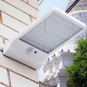 36 Led Bright Solarbetrieben Licht Bewegungsmelde<wbr/>r Pir Garten Außen