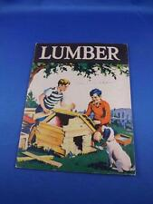 LUMBER BOOK BY PEARL H. MIDDLEBROOK 1940 FOREST REGIONS LOGGING SAWMILL