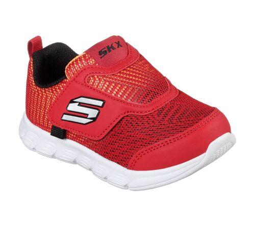 Skechers COMFY FLEX-DOUBLE STRIDE Toddler Boys Red//Black 95033N//RDBK Shoes
