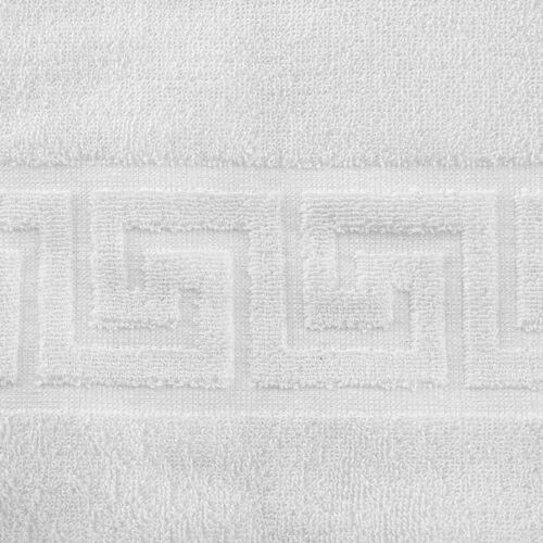 Bathroom Rug Squares Sponge White cm50x70 Hotel b/&b Spa Mod hotello