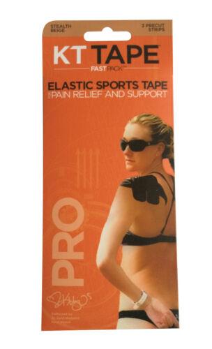 KT Tape Pro Kinesiologia Nastro Elastico-dolore sollievo-Supporto-Confezione da 3