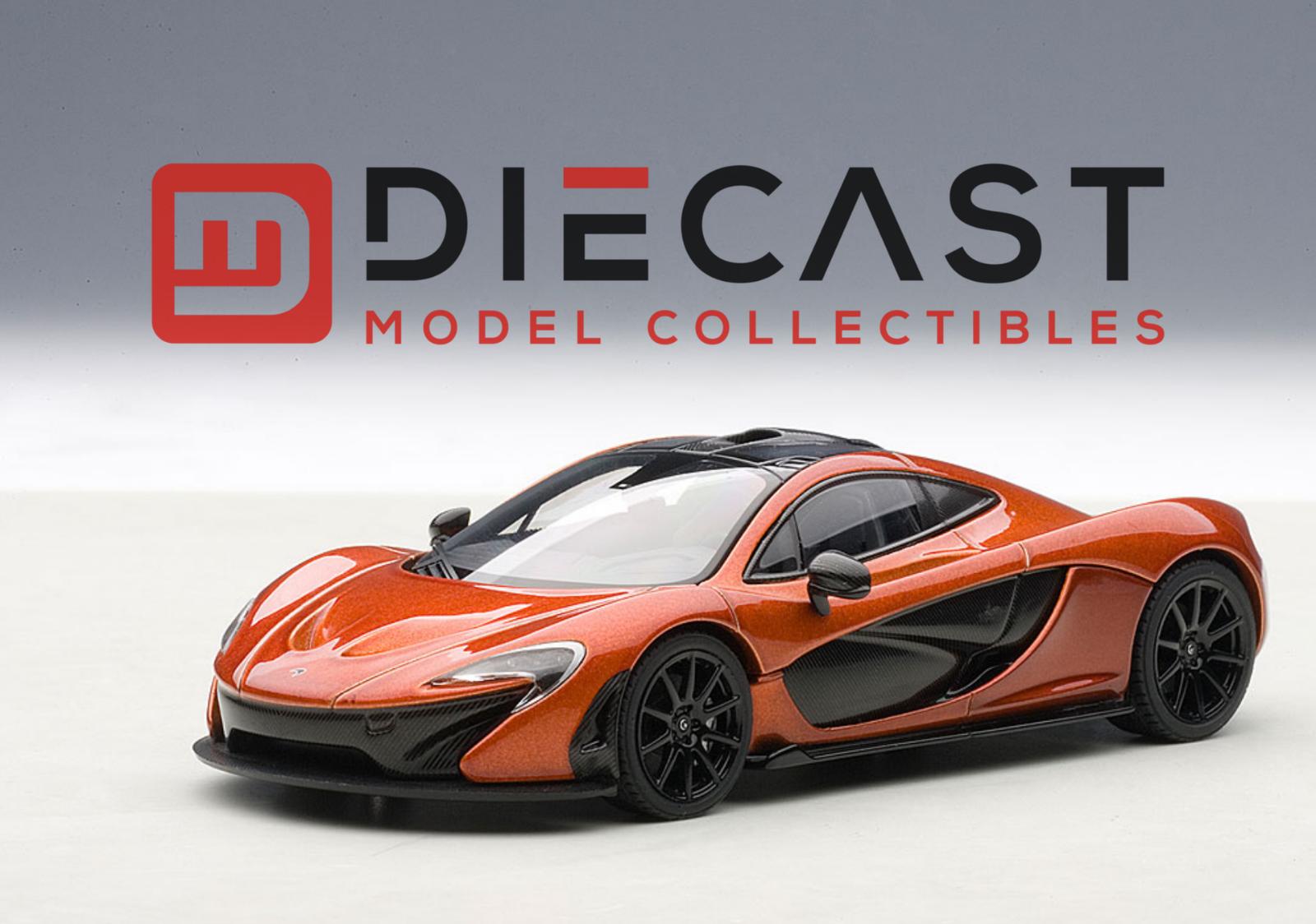 AUTOart 56012 McLaren P1 (Metallic Orange) 1 43 Scale