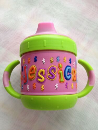 Personalized  I.D Gear sippy cup  Jessica