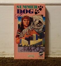 Summer Dog Rare & OOP Children's Family Movie Starmaker Home Video Release VHS