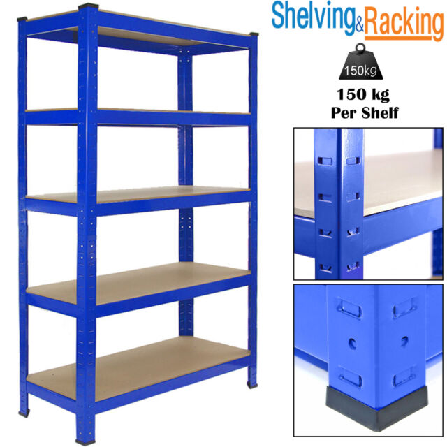 Étagère métallique industriel enclenchable Racking Garage Heavy Duty 5 Tier Shelf Bay