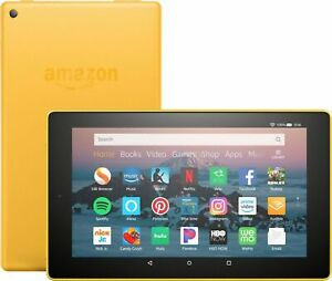 Amazon Fire HD 8 (8th Generation) 32 GB, Wi-Fi, 8 in - Canary Yellow