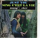 SONNY & CHER JUST YOU FRENCH ORIG EP 45 PS 7