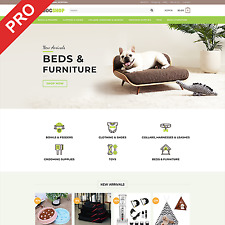 Premium Dropshipping Store Dog Supplies Turnkey Website Business For Sale