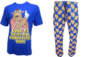 Bullseye-TV-Show-Flechettes-Cant-battre-un-peu-de-Bully-Officielle-Pyjama-Set