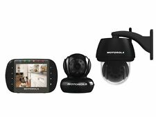 MOTOROLA Scout 1500 Digitale Video Überwachung mit Innen und Außenkamera Babyfon