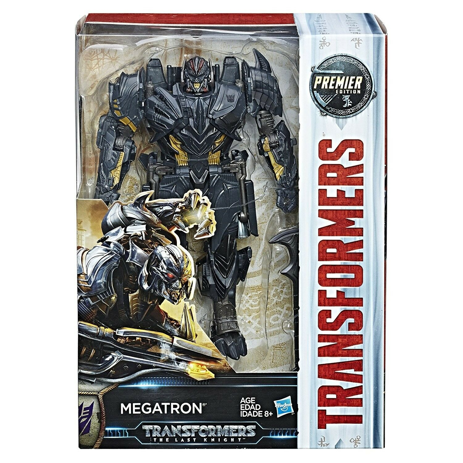 TRANSFORMERS MV5 THE LAST KNIGHT VOYAGER MEGATRON PREMIER EDITION