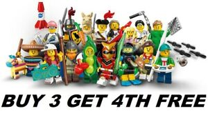 LEGO-MINIFIGURES-SERIES-20-71027-PICK-CHOOSE-YOUR-FIGURE-BUY-3-GET-1-FREE
