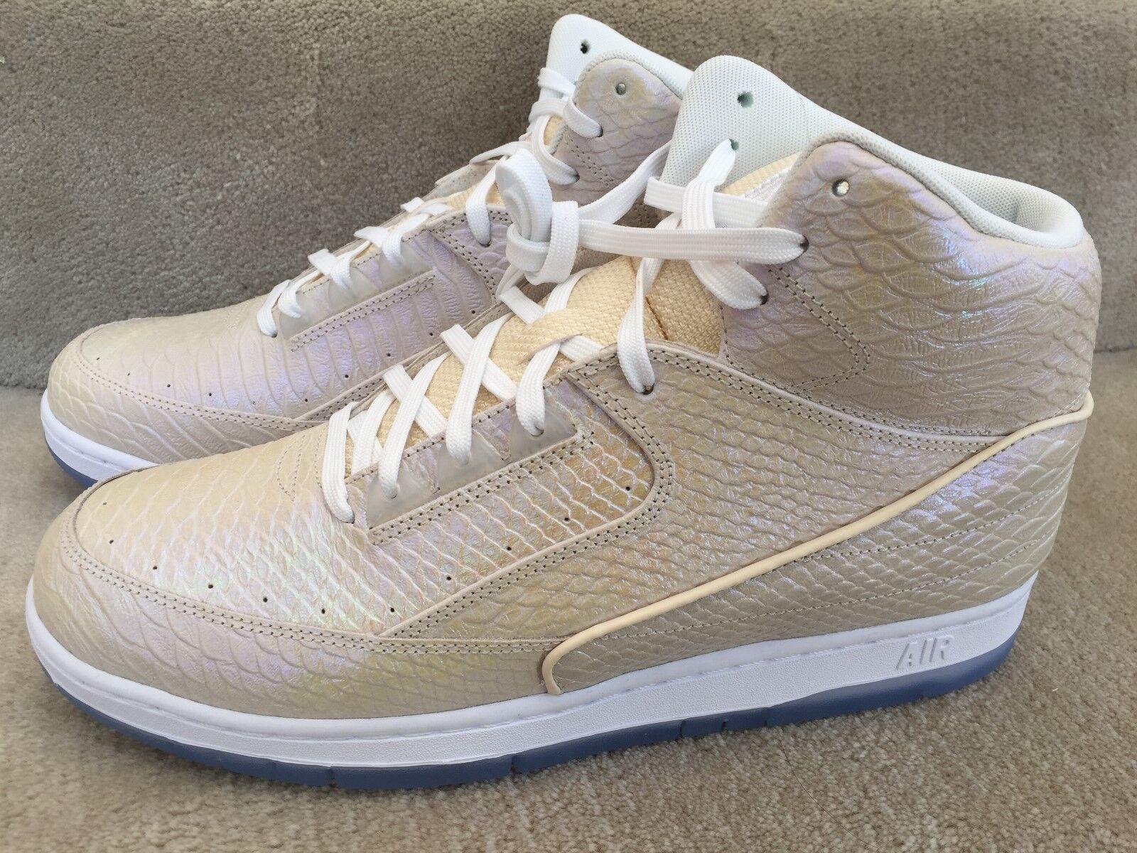 Nike air python sonodiventate pearl white pearl 705066 101 46 nuovi in scatola blu