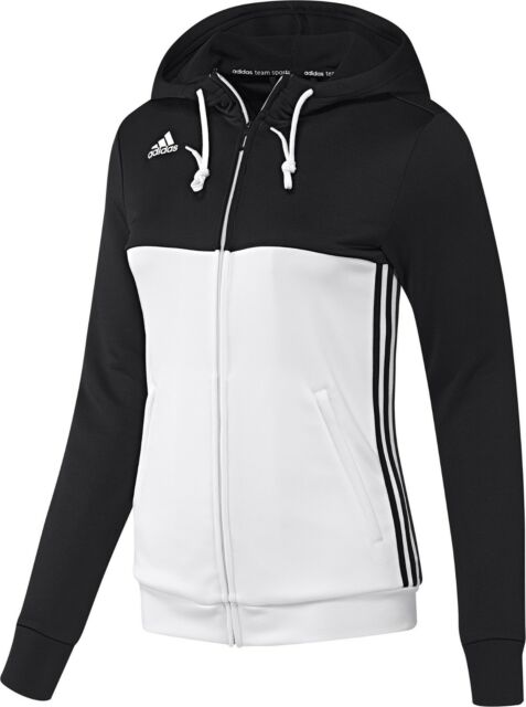 on sale 9a666 5587a adidas Ladies T16 Climalite Hoodies Womens Sports Full Zip Hooded ...