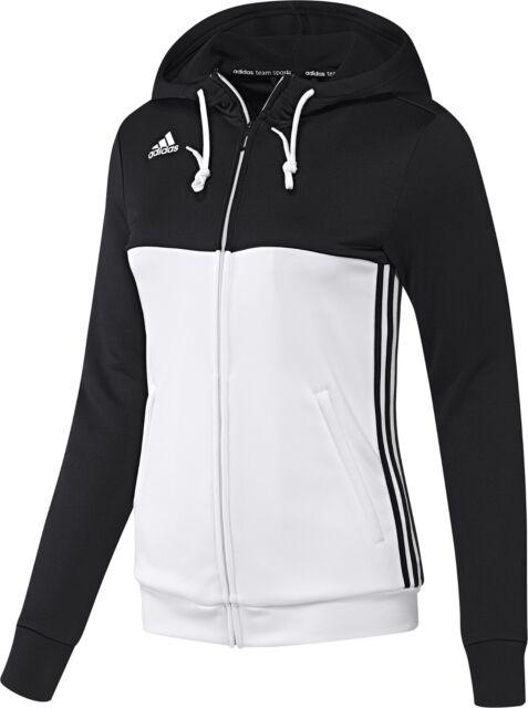 0ff40e1aa2c4 adidas Ladies T16 Climalite Hoodies Womens Sports Full Zip Hooded ...