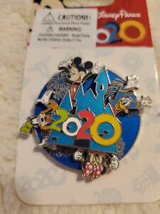 Walt-Disney-World-2020-Fab-4-Spinner-Pin-Mickey-Donald-Minnie-Goofy