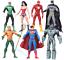 7pcs-Action-Figure-Toy-DC-Justice-League-7-034-Superman-Batman-Flash-Wonder-woman thumbnail 1